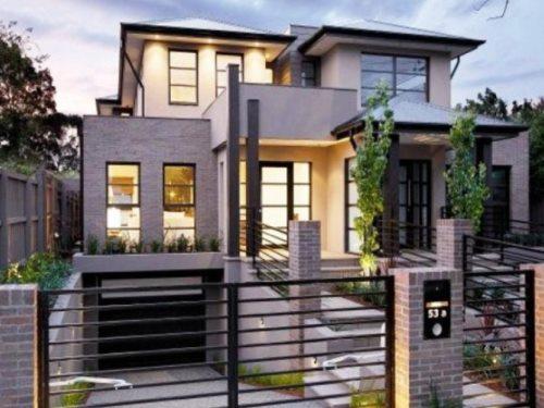 Contoh Pagar Besi Untuk Rumah Minimalis