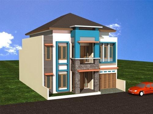Konsep desain rumah minimalis 2 lantai