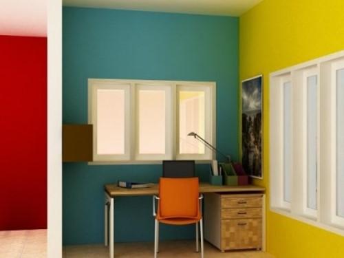 Perpaduan Warna Cat Rumah Minimalis Indoor