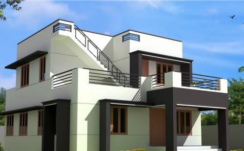 contoh konsep desain rumah minimalis 2 lantai