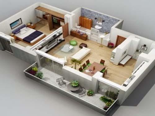 desain rumah gaya mewah modern