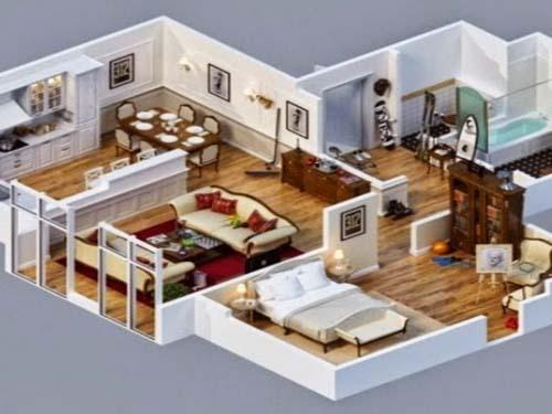 desain rumah mewah minimalis modern 4 kamar tidur
