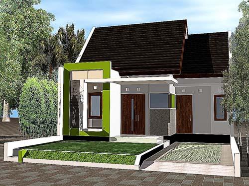 desain rumah minimalis modern sederhana 1 lantai